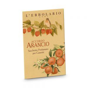 Accordo Arancio Sacchetto Profumato per Cassetti Erbolario
