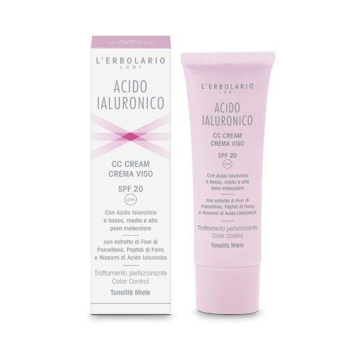 Acido Ialuronico CC Cream Crema Viso Caramello di Erbolario