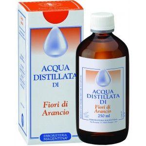 Acqua Distillata Fiori Arancio Erboristeria Magentina