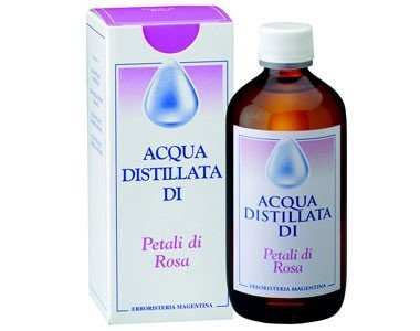 Acqua Distillata Petali Rosa Erboristeria Magentina