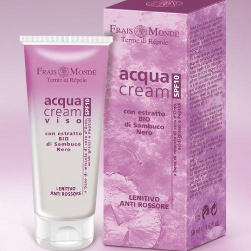 Acqua Cream Viso Lenitiva Anti Rossore Frais Monde