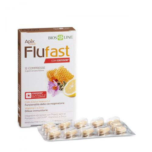 Apix Propoli Flufast compresse con CISTOVIR Bios Line