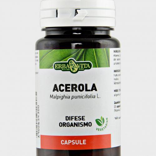 Acerola Capsule Erba Vita aiuto sistema immunitario