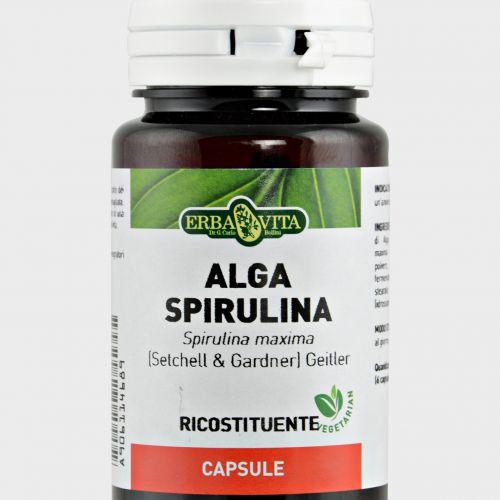 Alga Spirulina Capsule Erba Vita