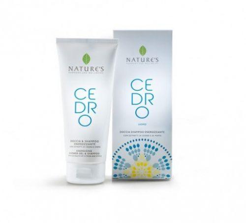 Cedro Uomo Doccia Shampoo Energizzante di Nature's