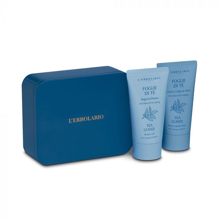 Foglie di Tè Beauty Box Bagnoschiuma + Crema Corpo Mani di Erbolario