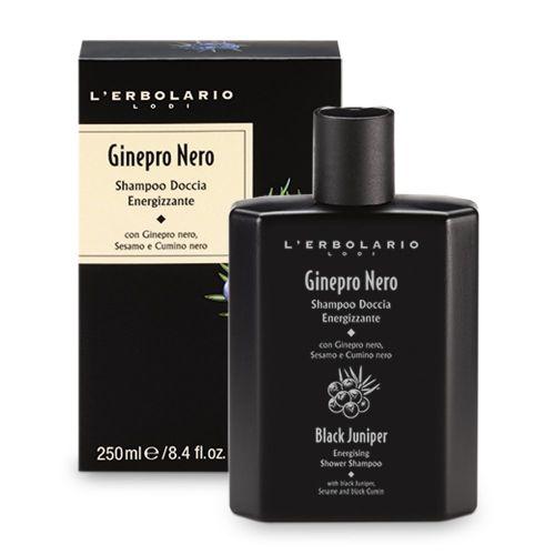 Ginepro Nero Shampoo Doccia Energizzante di Erbolario