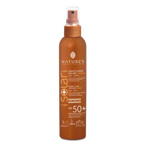 I Solari Spray Solare Bimbi Viso Corpo SPF 50
