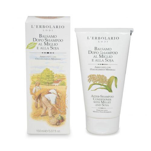 Miglio Soja Balsamo Dopo Shampoo di Erbolario