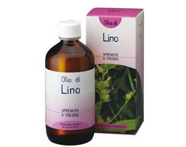Olio di Lino di Erboristeria Magentina