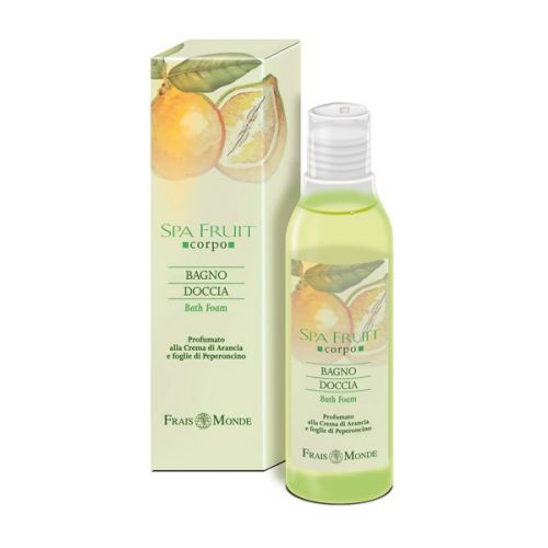 Arancia e Foglie di Peperoncino Bagno doccia Spa Fruit Frais Monde