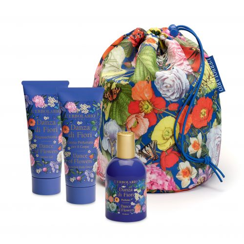 Danza di Fiori Beauty Bag Trio Erbolario