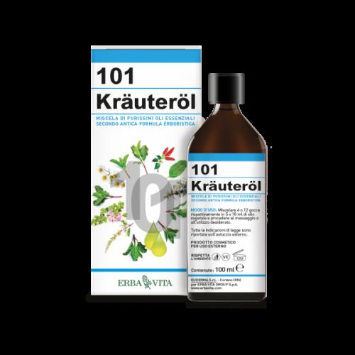 Kräuteröl olio 101 erbe di Erba Vita