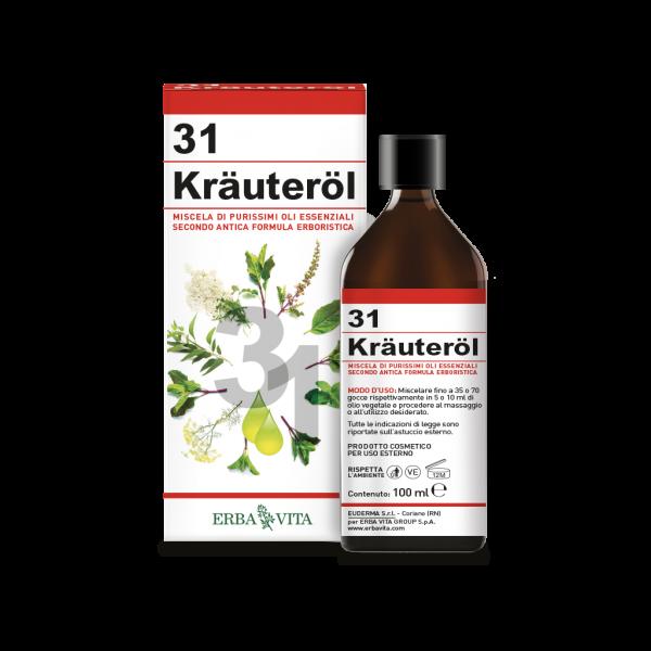 Kräuteröl 31 olio erbe di Erba Vita