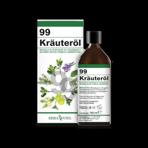 Kräuteröl olio 99 erbe di Erba Vita