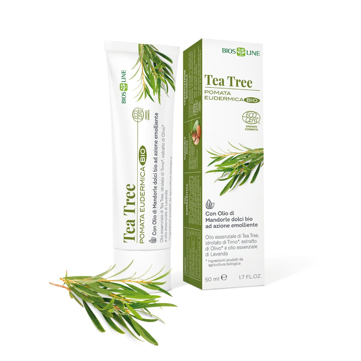 Pomata Bio Tea Tree di Bios Line