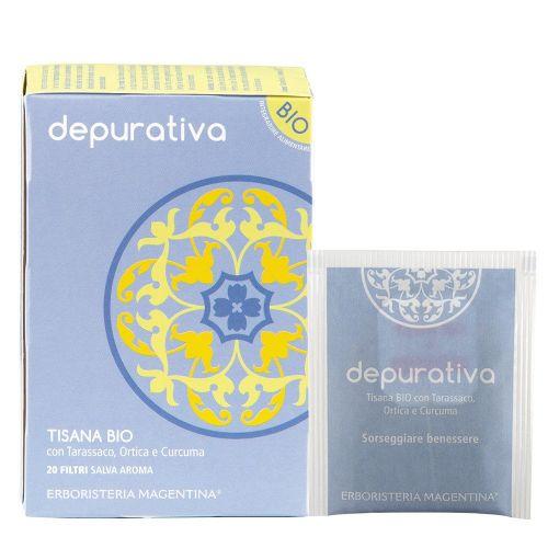 Tisana Depurativa di Erboristeria Magentina