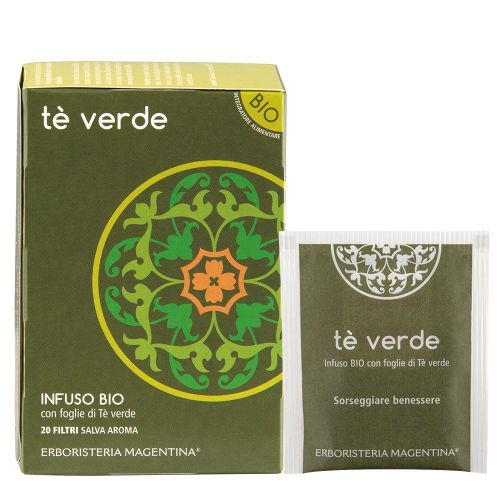 Tisana Tè Verde di Erboristeria Magentina