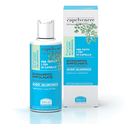 Capelvenere Bio Shampoo Rimpolpante di Helan