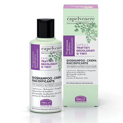 Capelvenere Bio Shampoo Crema Riacidificante di Helan
