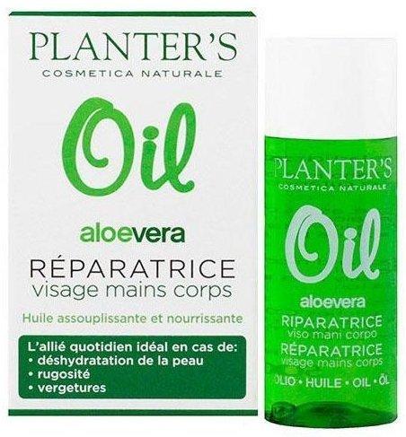 Aloe Vera Oil Roparatrice Viso Corpo di Planter's