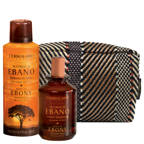 Accordo di Ebano Beauty-Set Barba di Erbolario