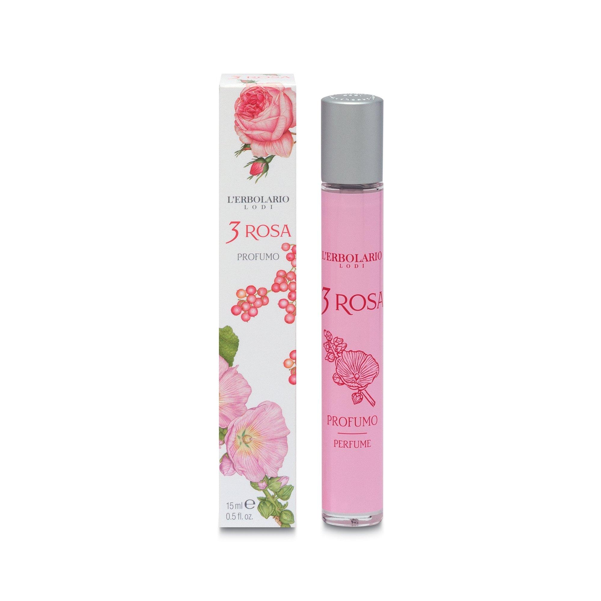 l'erbolario 3 rosa sapone profumato