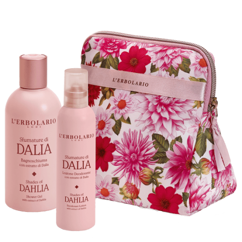 Sfumature di Dalia Beauty-Set Corolla di Erbolario
