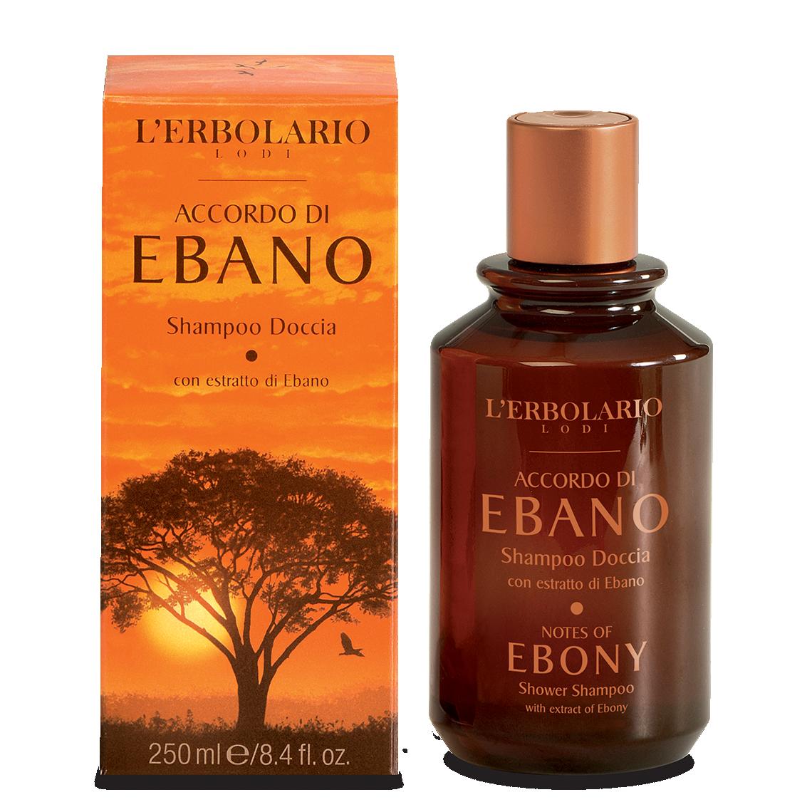 Accordo di Ebano Shampoodoccia di Erbolario