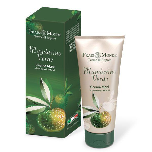 Mandarino Verde Crema Mani Termale di Frais Monde