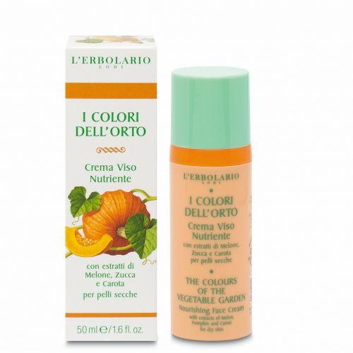 Linea Nutriente Crema Viso I Colori dell'Orto di Erbolario