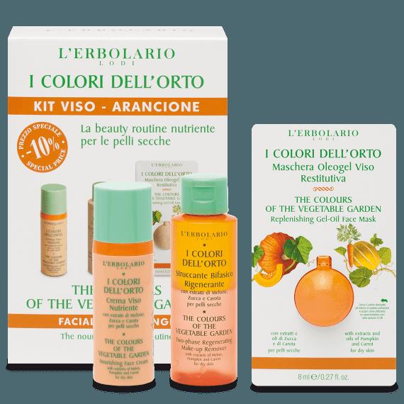 Linea Nutriente Kit Viso i Colori dell'Orto di Erbolario