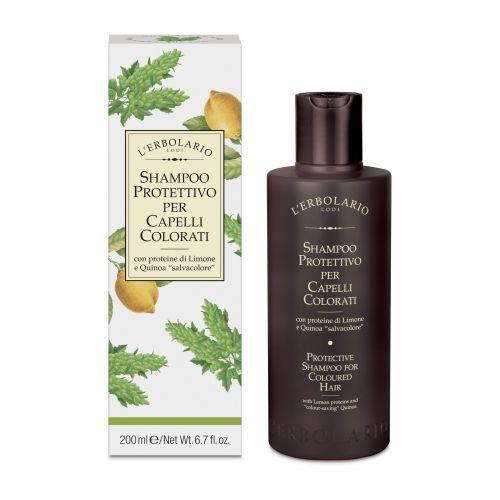 Shampoo Protettivo Capelli Colorati di Erbolario