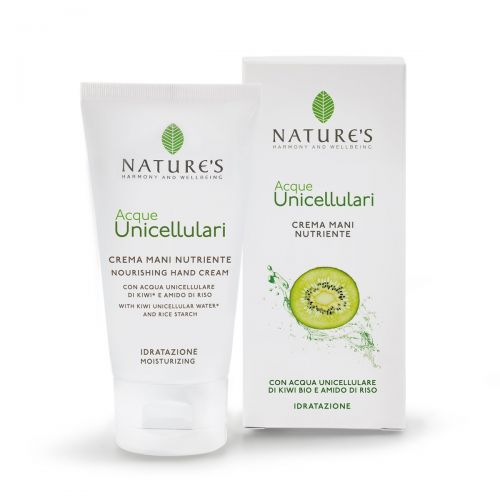 Acqua Unicellulare Crema Mani Nutriente di Nature's