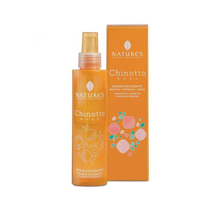 Chinotto Rosa Acqua Spray Vitalizzante di Nature's