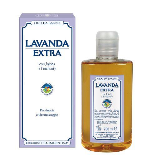 Lavanda Extra Olio da Bagno di Erboristeria Magentina